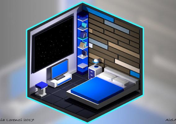 Space design bedroom