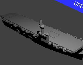 3D printable model US Casablanca Class Aircraft Carrier