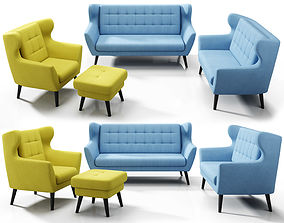 Henry collection by Etap Sofa 3D