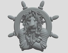 3D print model lion capitan