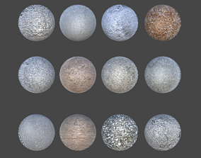 3D Seamless Textures with Normal Maps and Displacement