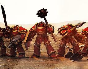 Terran Paragon Armour Collection 3D print model