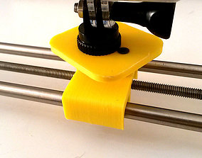 3D print model hand motion camera slider