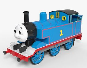 Thomas the Train 3D asset