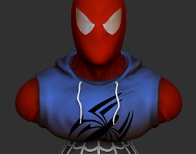 3D print model Scarlet Spiderman Bust