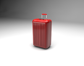 3D Travel suitcase