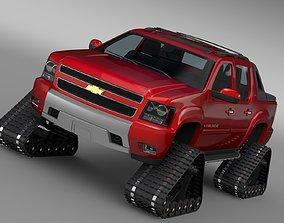 3D Chevrolet Avalanche Z71 Crawler