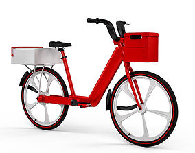 3D Post Delivery Electric Bicycle