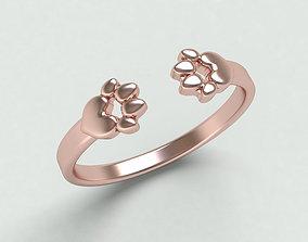 Paws ring-211 3D print model
