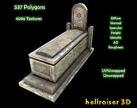 Grave 1 - PBR - Textured 3D asset