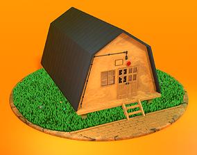 3D model Summer pioneer house from Everlasting Summer