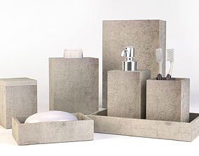 set 3D Bathroom Set