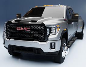 3D model GMC Sierra 3500HD Denali 2020