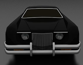 3D asset Evil car from The Car movie