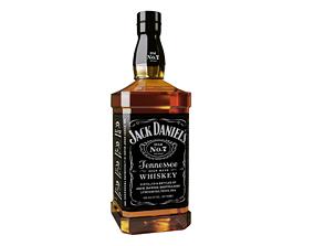 3D model Jack Daniels Old No 7