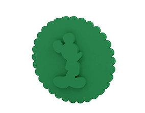Cookie stamp - Stamp kitchen-dining 3D print model