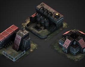3D model RTS building pack