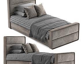SINGLE BED 18 3D model
