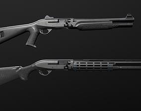 3D model Benelli M2 12 Gauge Shotgun