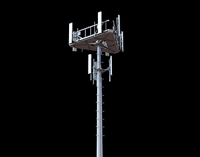 Telecommunication Tower 3D model telecom