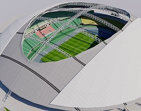 3D Oita Dome Stadium - Japan