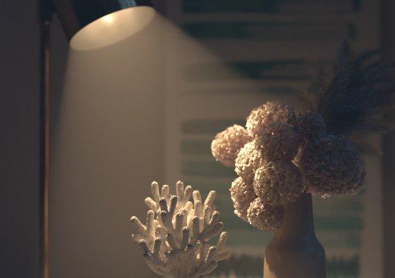 close up render
