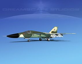 General Dynamics F-111 Aardvark V02 3D