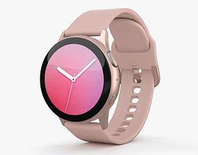 Samsung Galaxy Watch Active 2 40mm Aluminium Pink Gold 3D