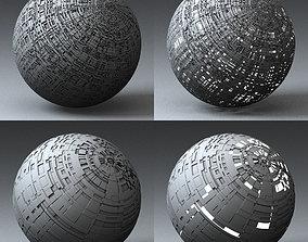 3D model Syfy Displacement Shader G