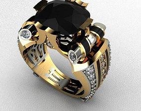 Male Ring Luxury 3D print model female