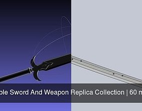 3D Printable Sword And Weapon Replica Collection