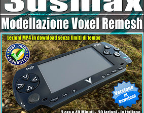 3dsmax Modellazione Avanzata Voxel Remesh VR / AR ready 1