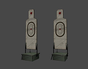 Target at the shooting range 3D model