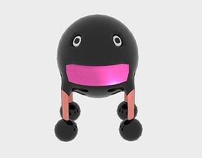 3D model Sphere Steel Monster