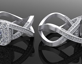 3D printable model silver Classic ring