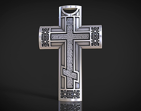 3D print model Male neck cross