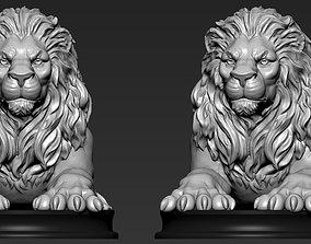 Lion King 3D print model barbaric
