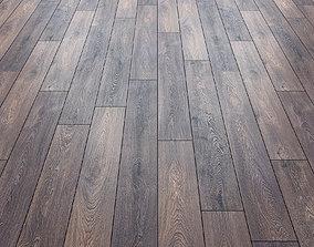 Oak natural matte floor material 3D model
