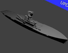 British Aircraft Carrier Hermes 3D printable model