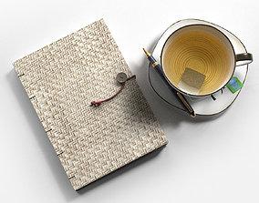 3D Diary Pen and Tea