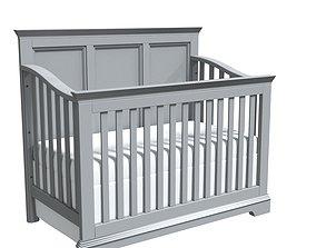 3D model decor Crib Bambibaby