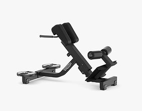3D model Technogym Pure Lower Back Bench