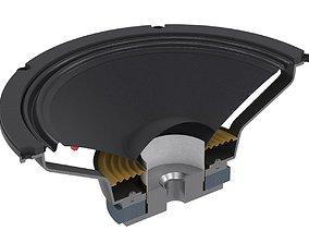 3D Speaker Cross Section