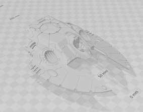 3D printable model SPACE ELF FLYING TANKS ARMADA
