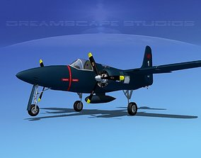 Grumman F7F Tigercat V01 3D model