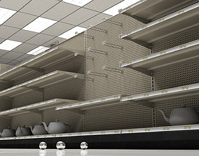 3D Store Shelves Environment
