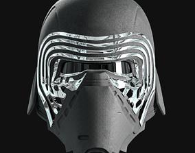 Kylo Ren Helmet STL 3D print model