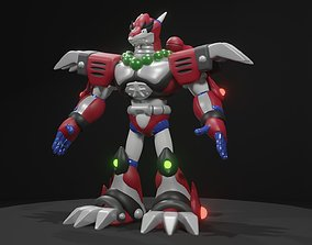 Magma Dragoon 3D asset