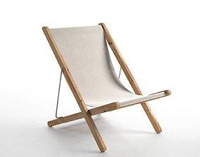 3D Riviera Deck Chair