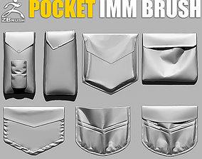 Pocket IMM Brush for ZBrush 3D model